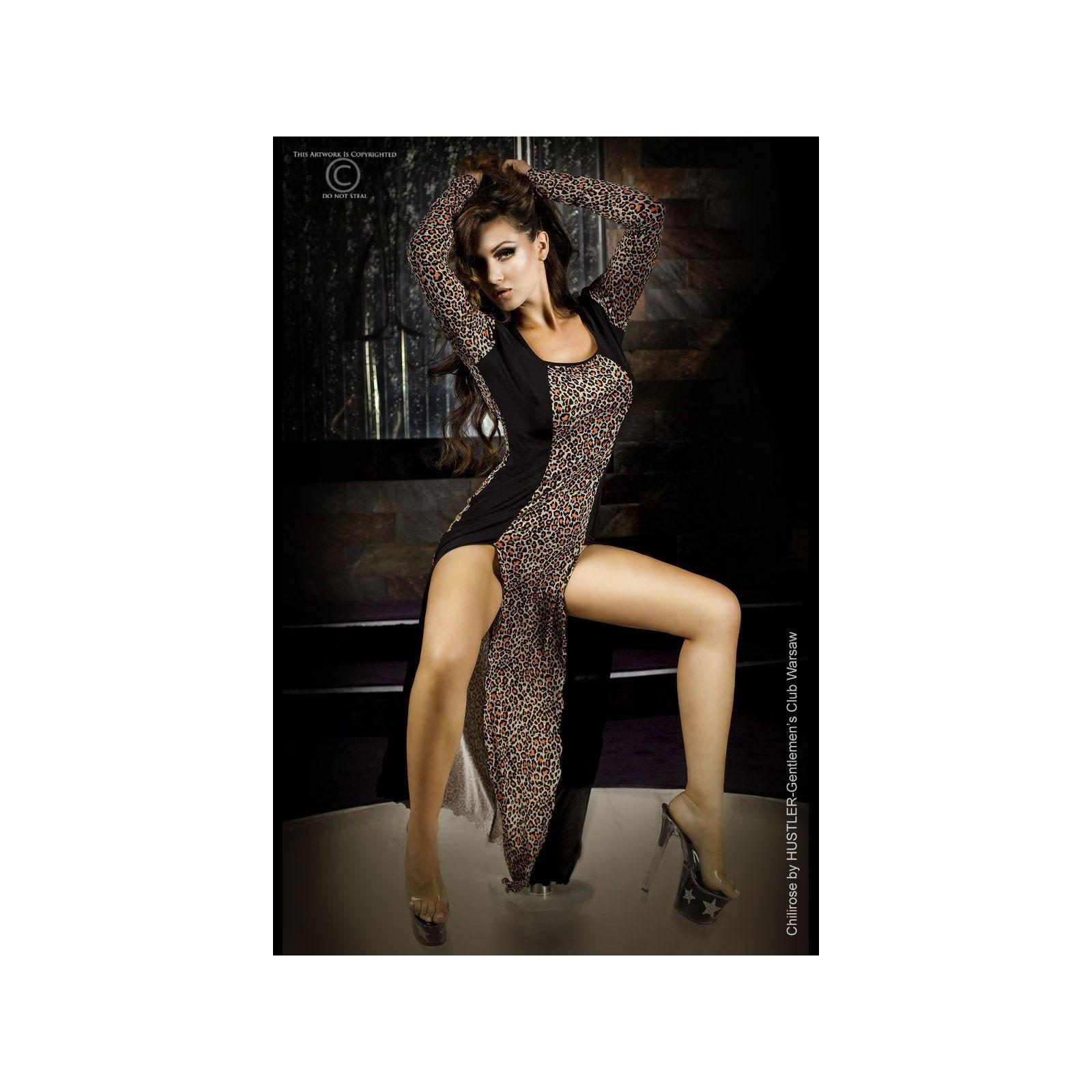Langes Kleid CR3405 orange - 1 - Vorschaubild