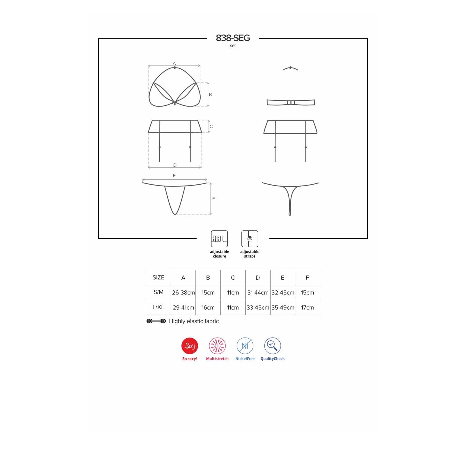 838-SEG-3 Set rot - 7 - Vorschaubild