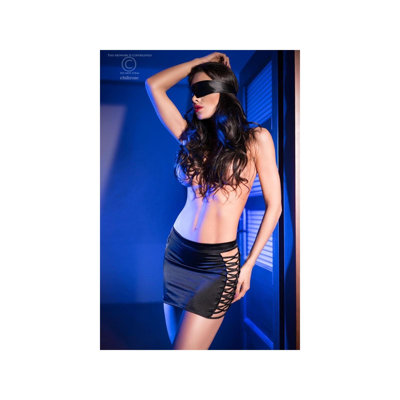 Rock + Augenbinde CR4190 schwarz - 1 - Vorschaubild