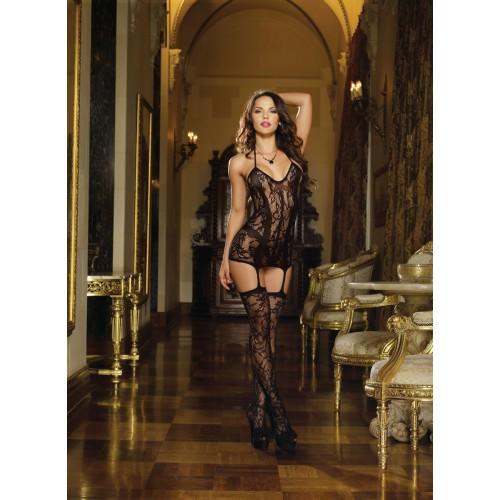 Kleid DR0145 schwarz - 1