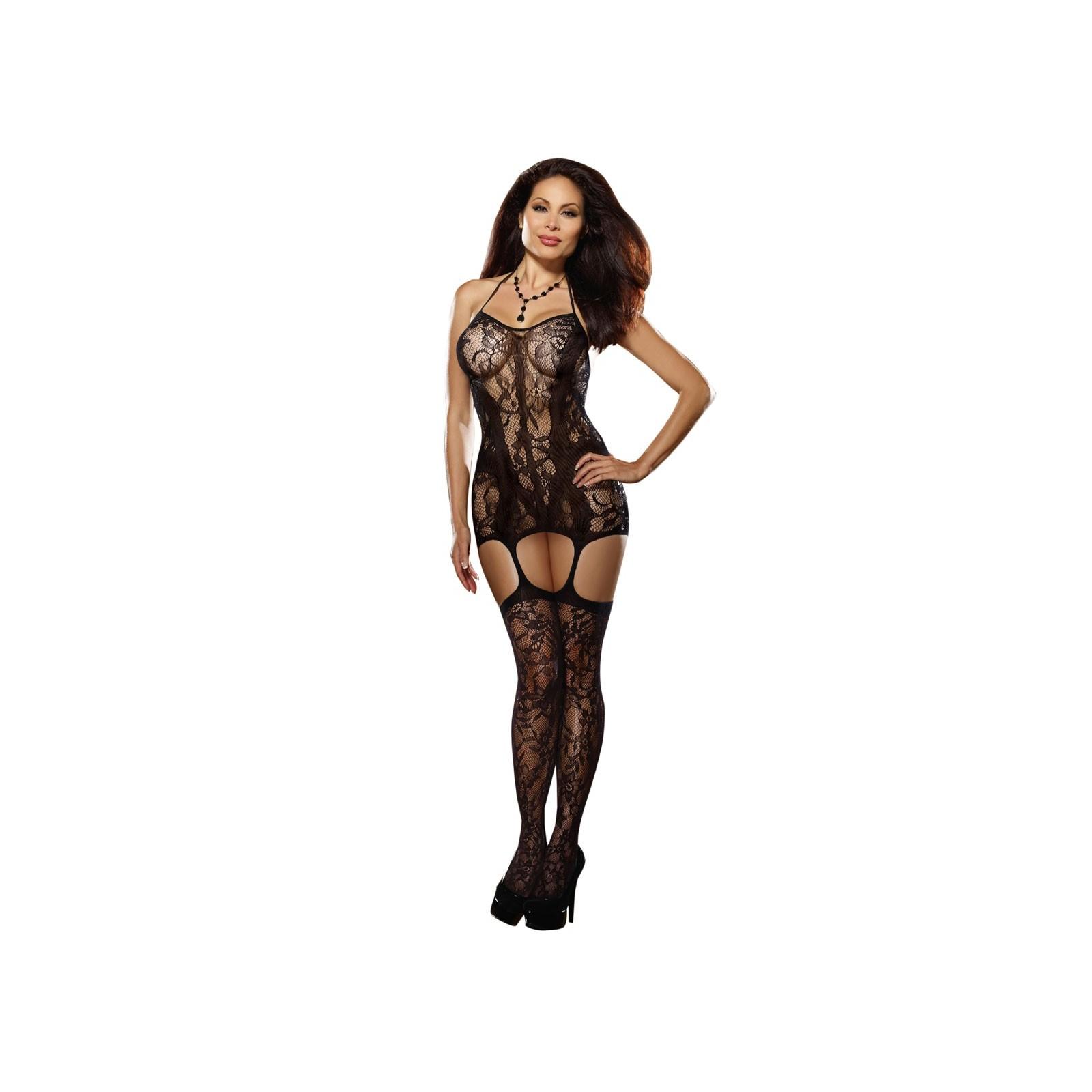 Kleid DR0145 schwarz - 7 - Vorschaubild