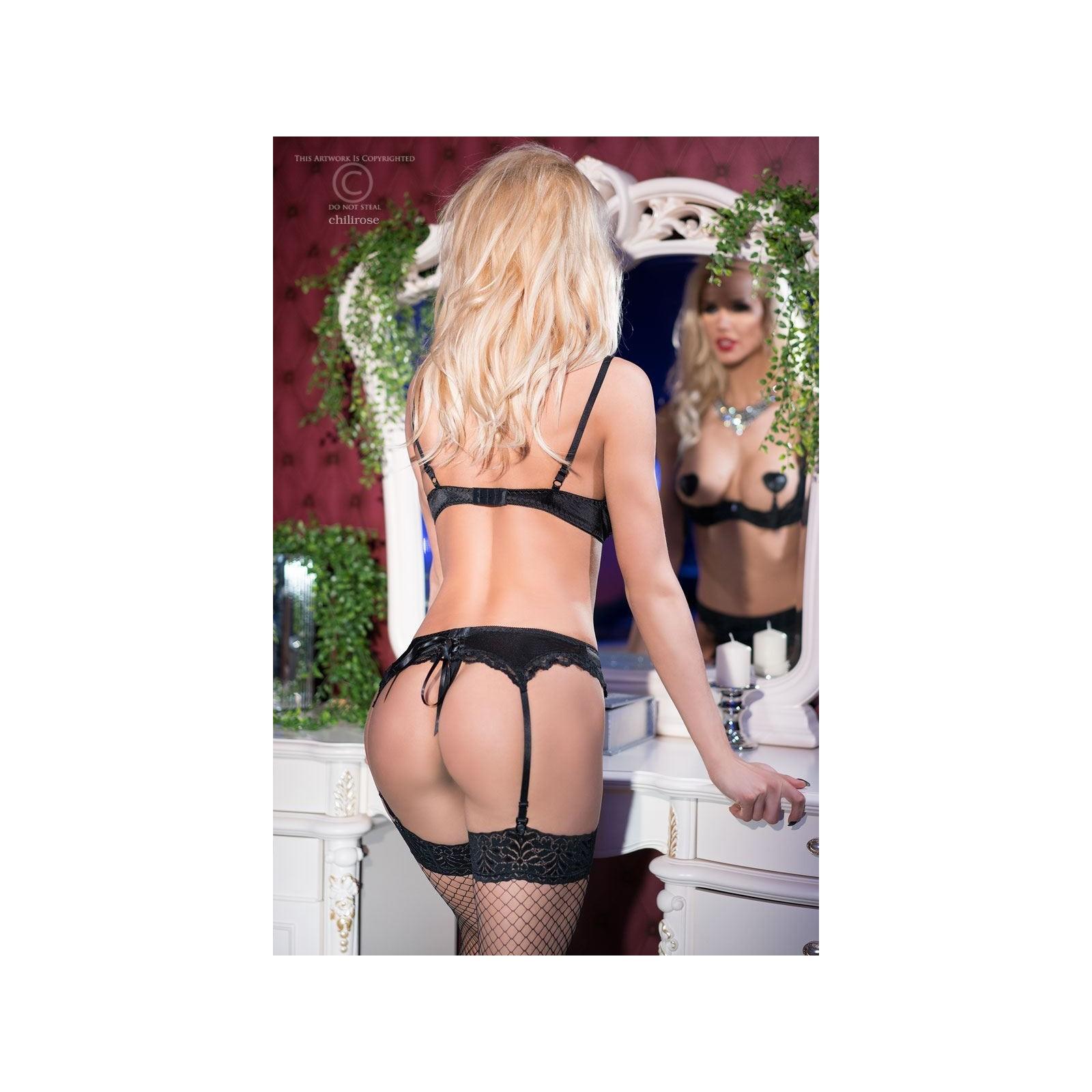 Sexy Set CR4191 schwarz - 4 - Vorschaubild