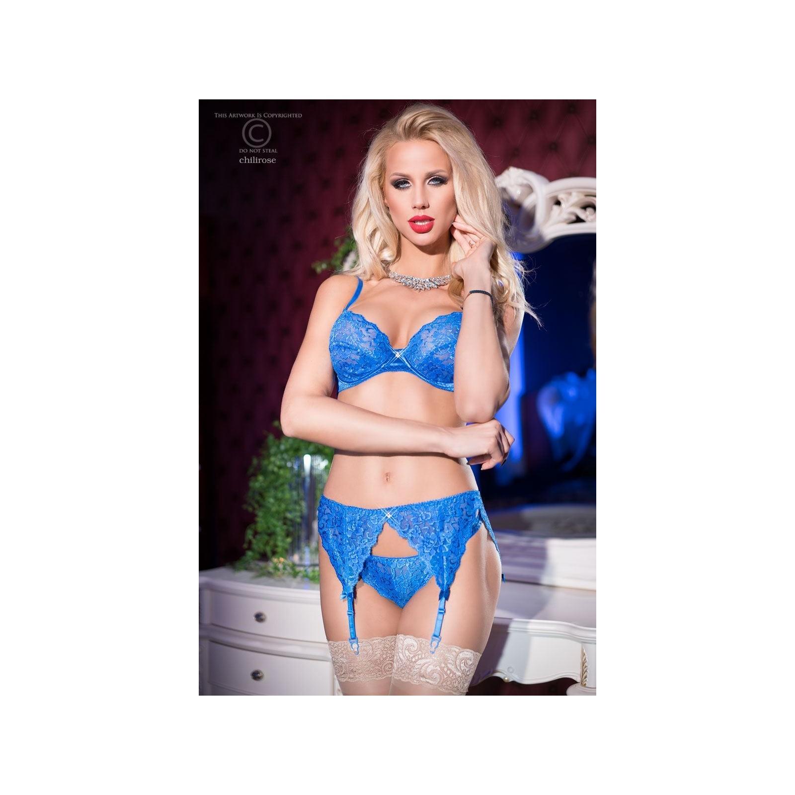 Sexy Set CR4192 blau - 3 - Vorschaubild