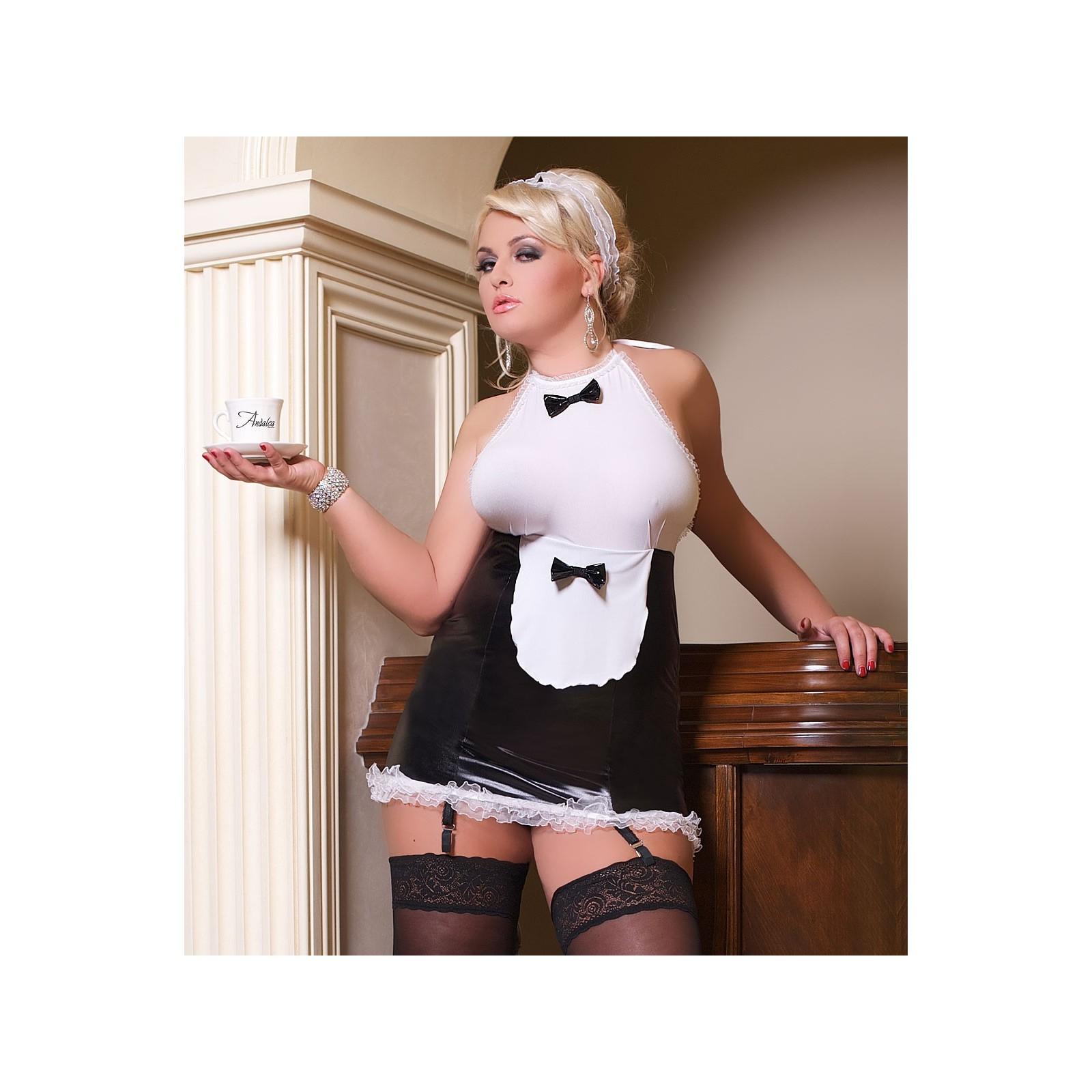 Luxe Waitress Outfit S/3035 - 1 - Vorschaubild