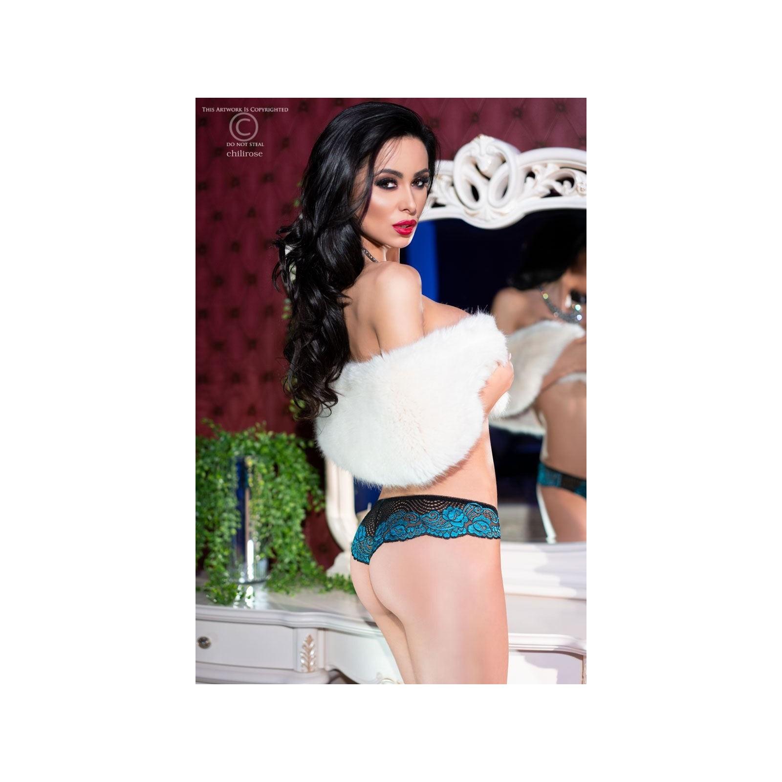 Panties CR4216 schwarz/blau - 2 - Vorschaubild