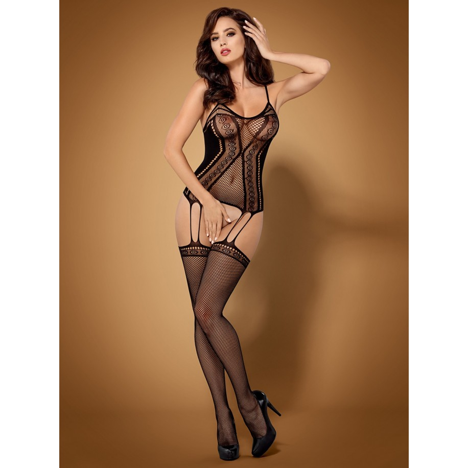 Bodystocking F227 schwarz - 1