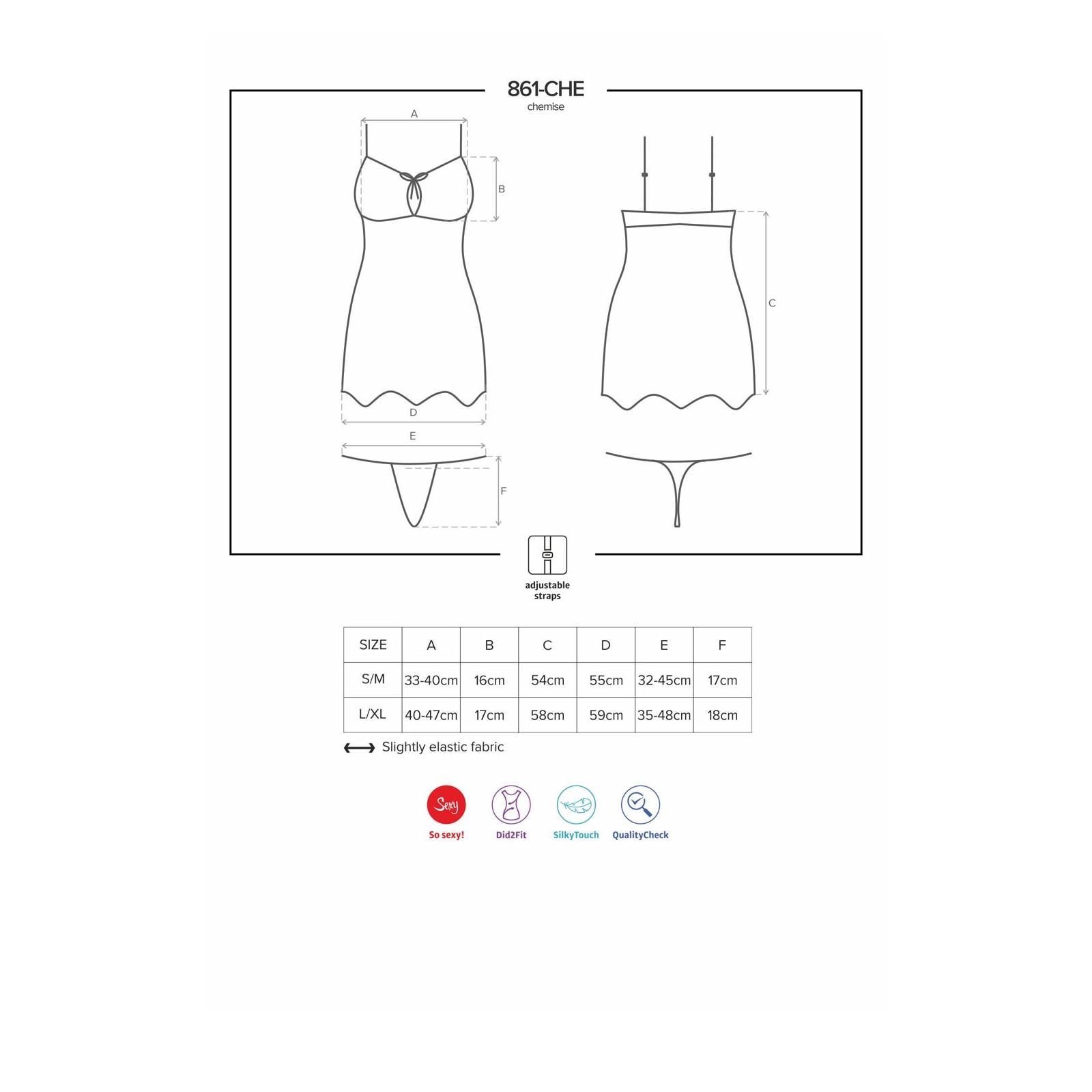 861-CHE-5 Chemise fuchsia - 7 - Vorschaubild