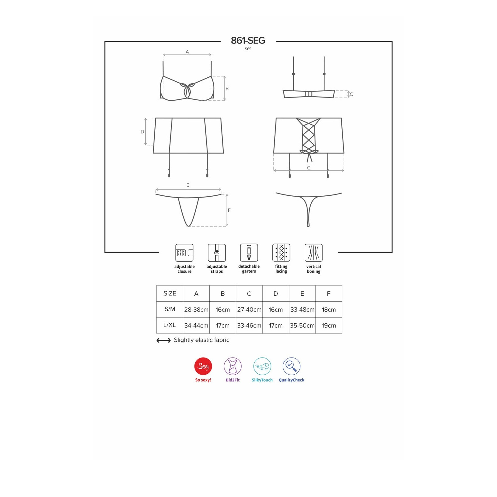 861-SEG-5 Set fuchsia - 7 - Vorschaubild