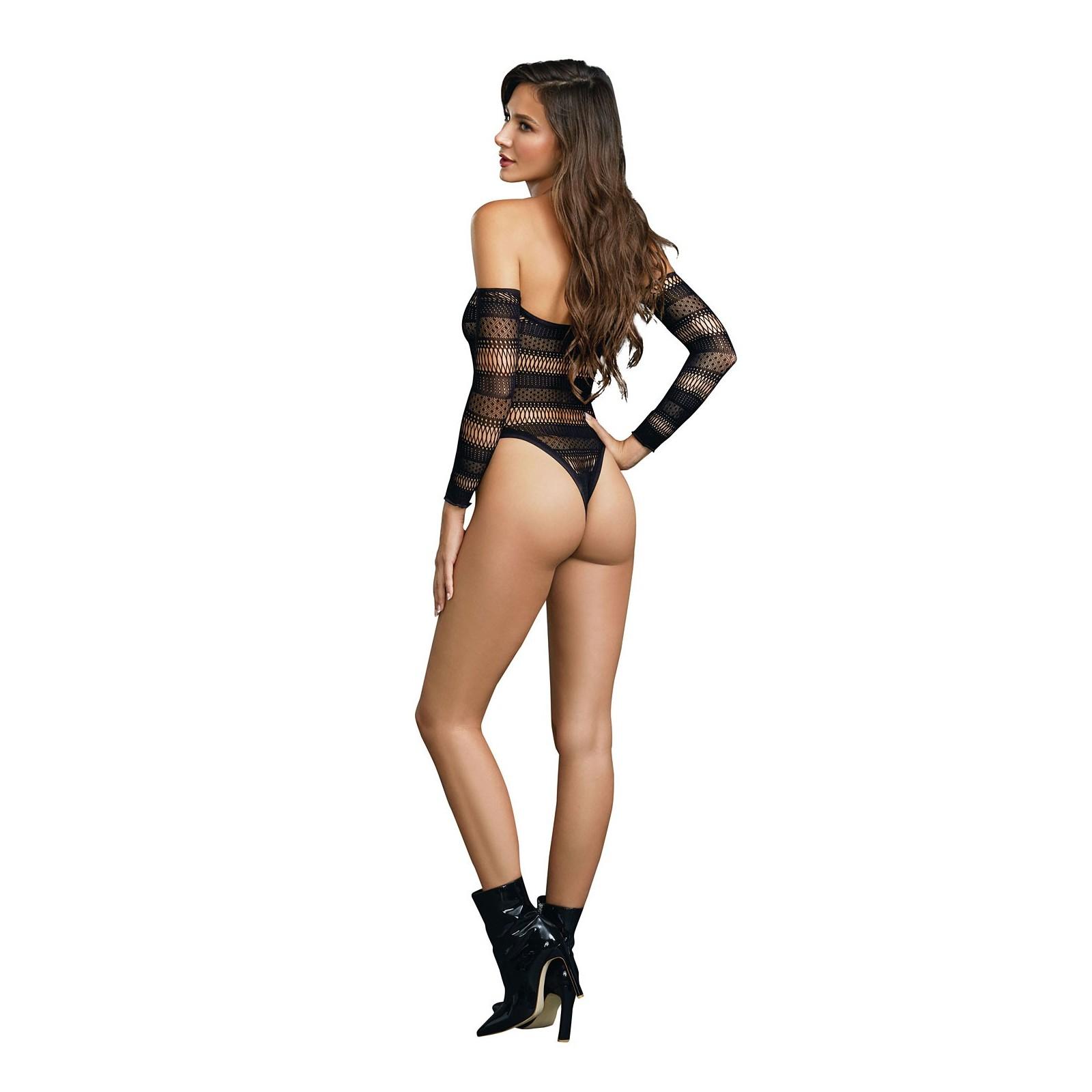 Bodysuit DR11287 schwarz - 8 - Vorschaubild