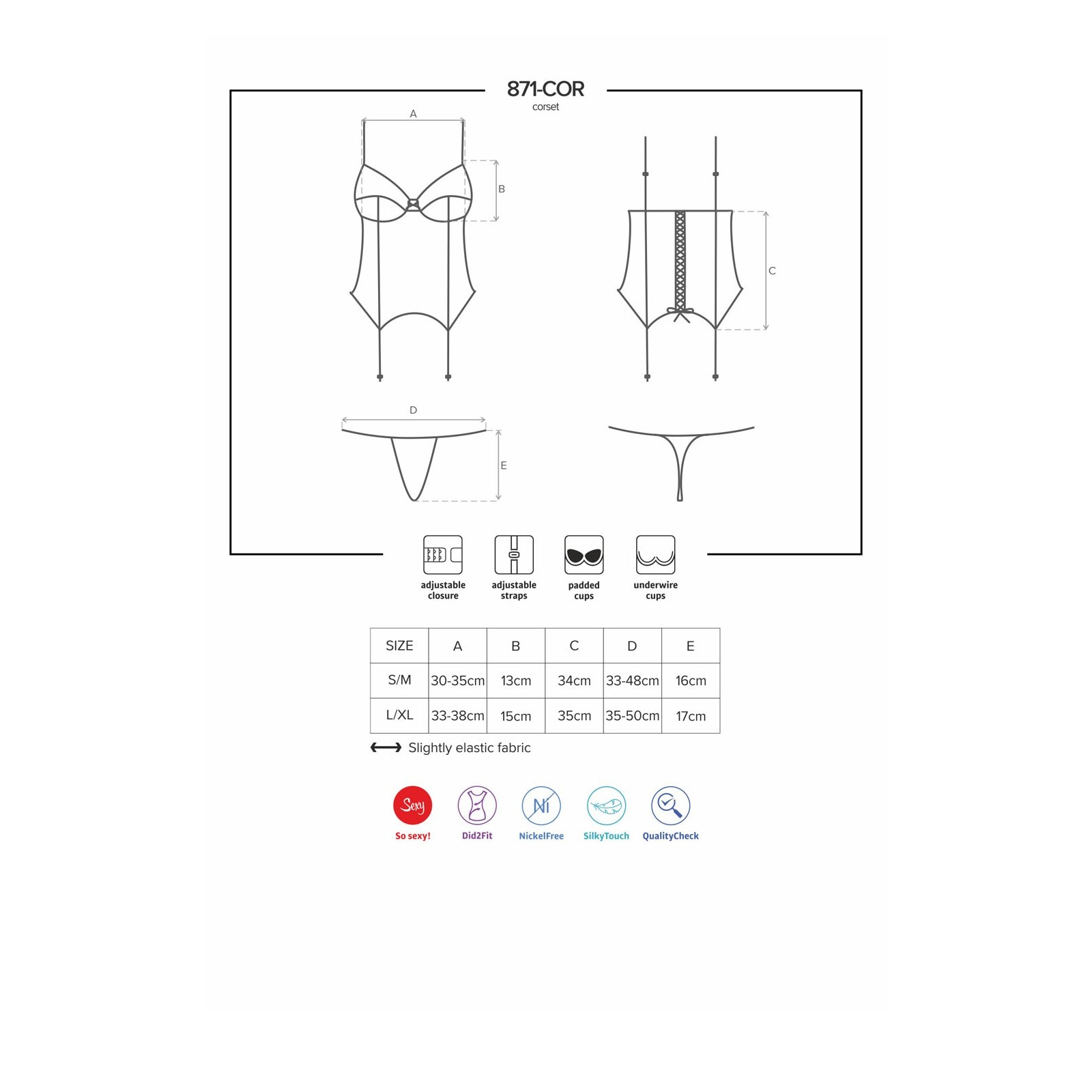 871-COR-2 Corsage weiß - 7 - Vorschaubild
