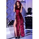 Kleid mit Kapuze CR4302 pink - 1