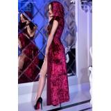 Kleid mit Kapuze CR4302 pink - 2