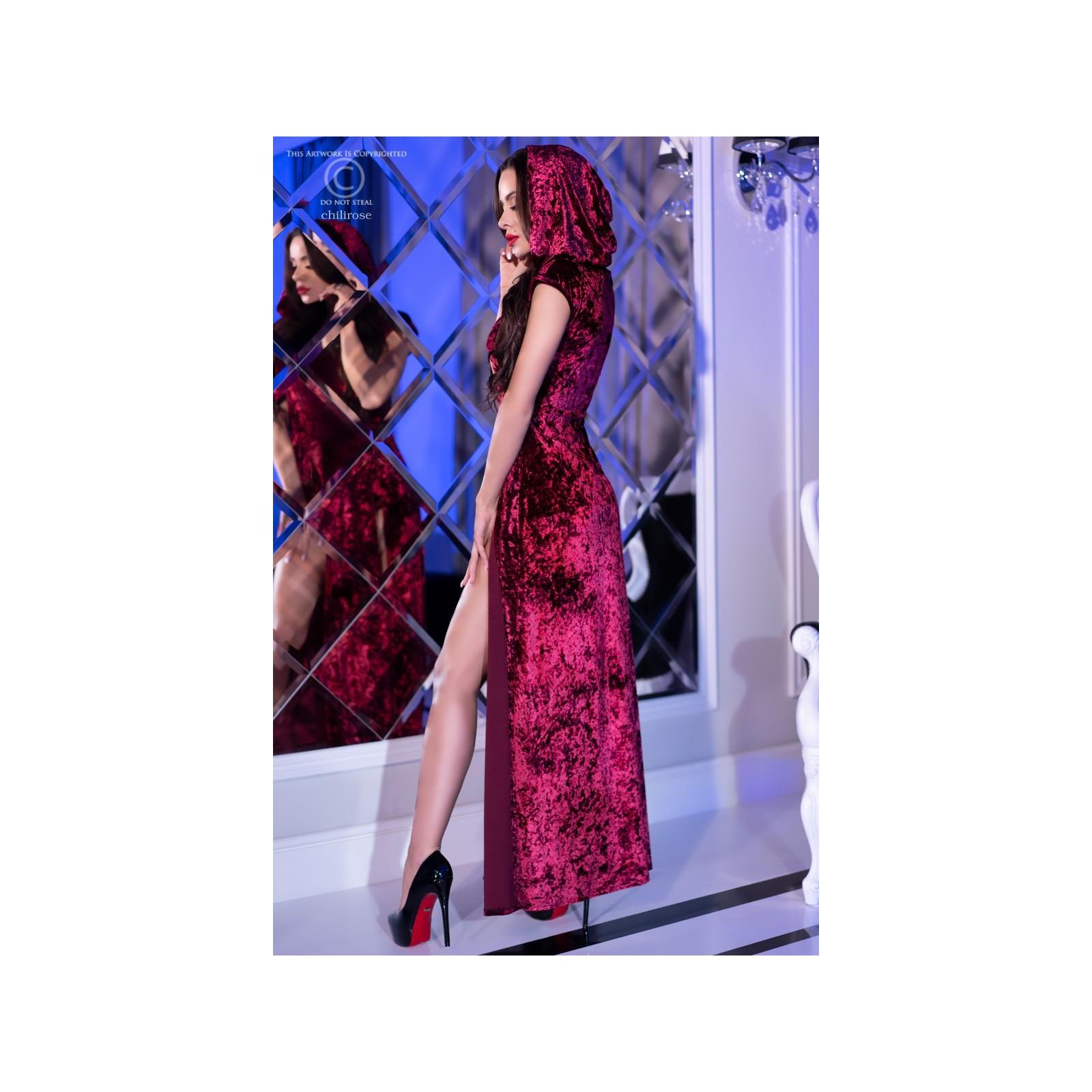 Kleid mit Kapuze CR4302 pink - 2 - Vorschaubild
