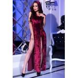 Kleid mit Kapuze CR4302 pink - 3