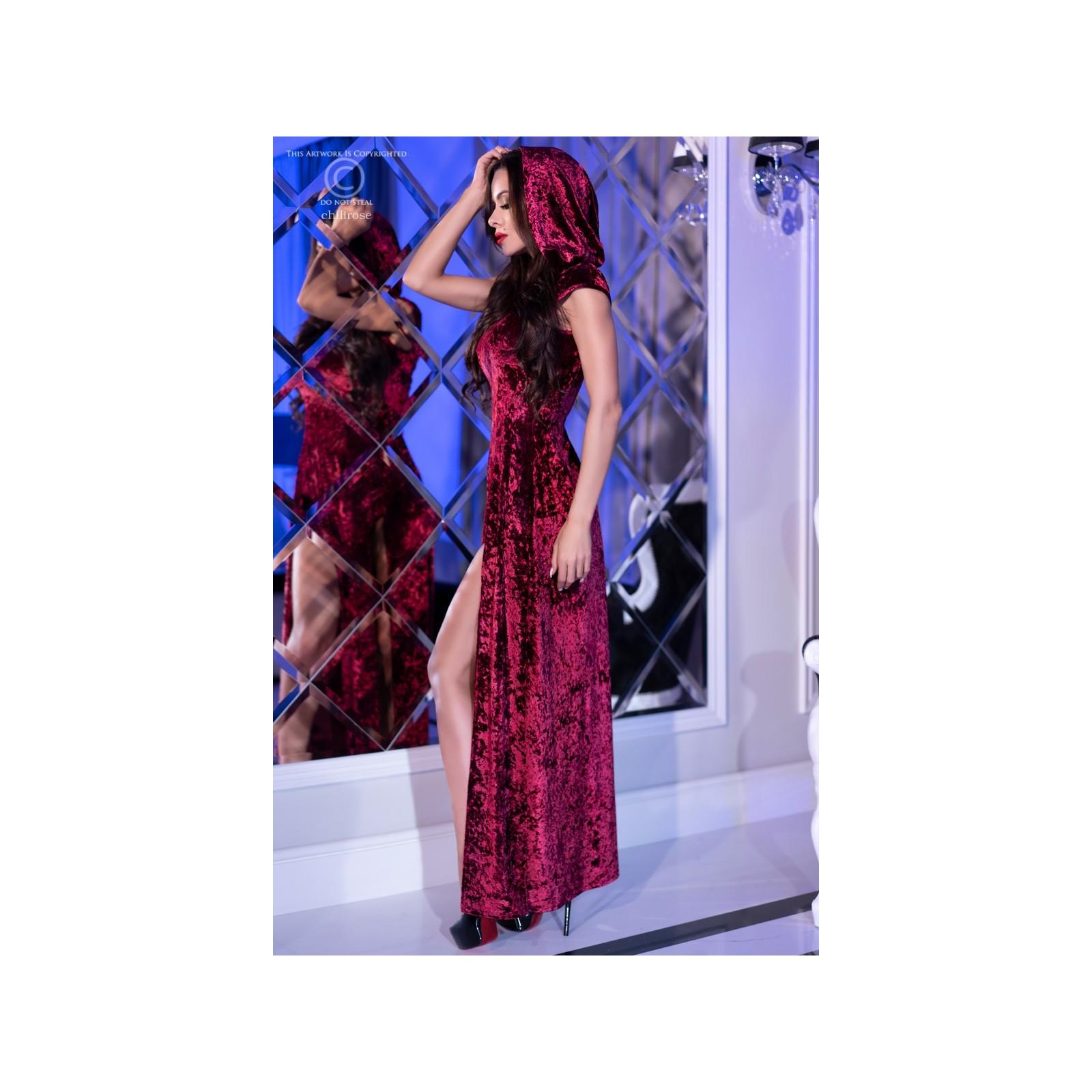 Kleid mit Kapuze CR4302 pink - 4 - Vorschaubild
