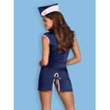 Stewardess-Kostüm blau - 2