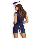 Stewardess-Kostüm blau - 4