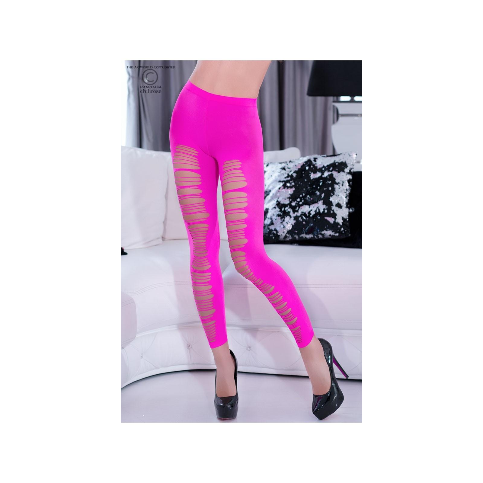 Leggings CR4327 neonpink - 4 - Vorschaubild
