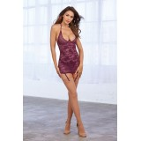 Chemise DR11843 mulberry - 3