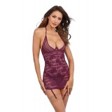 Chemise DR11843 mulberry - 5