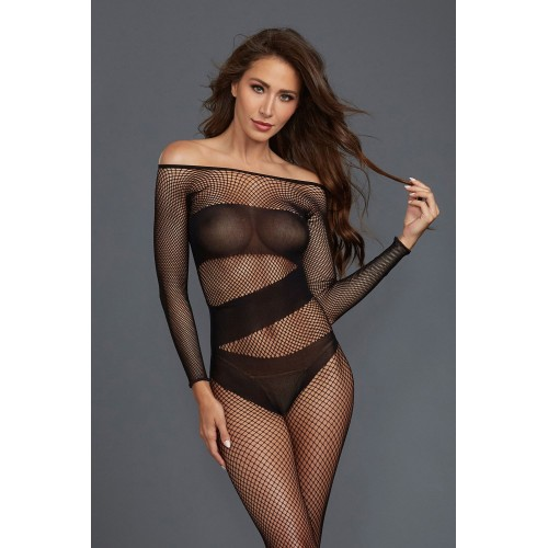 Bodystocking DR0323 schwarz - 1