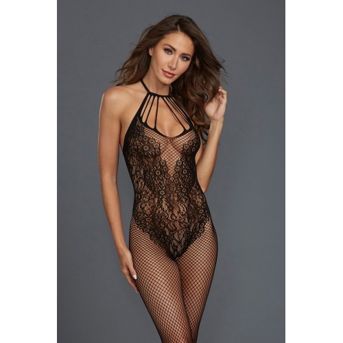 Bodystocking DR0326 schwarz - 1