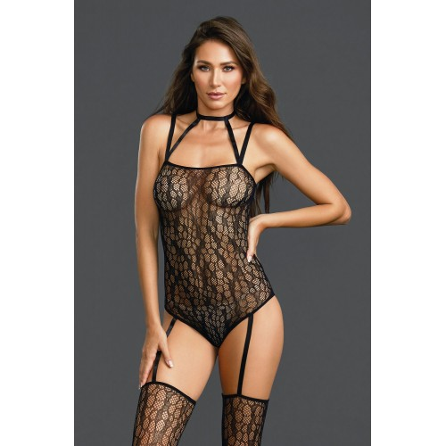 Bodystocking DR0311 schwarz - 1