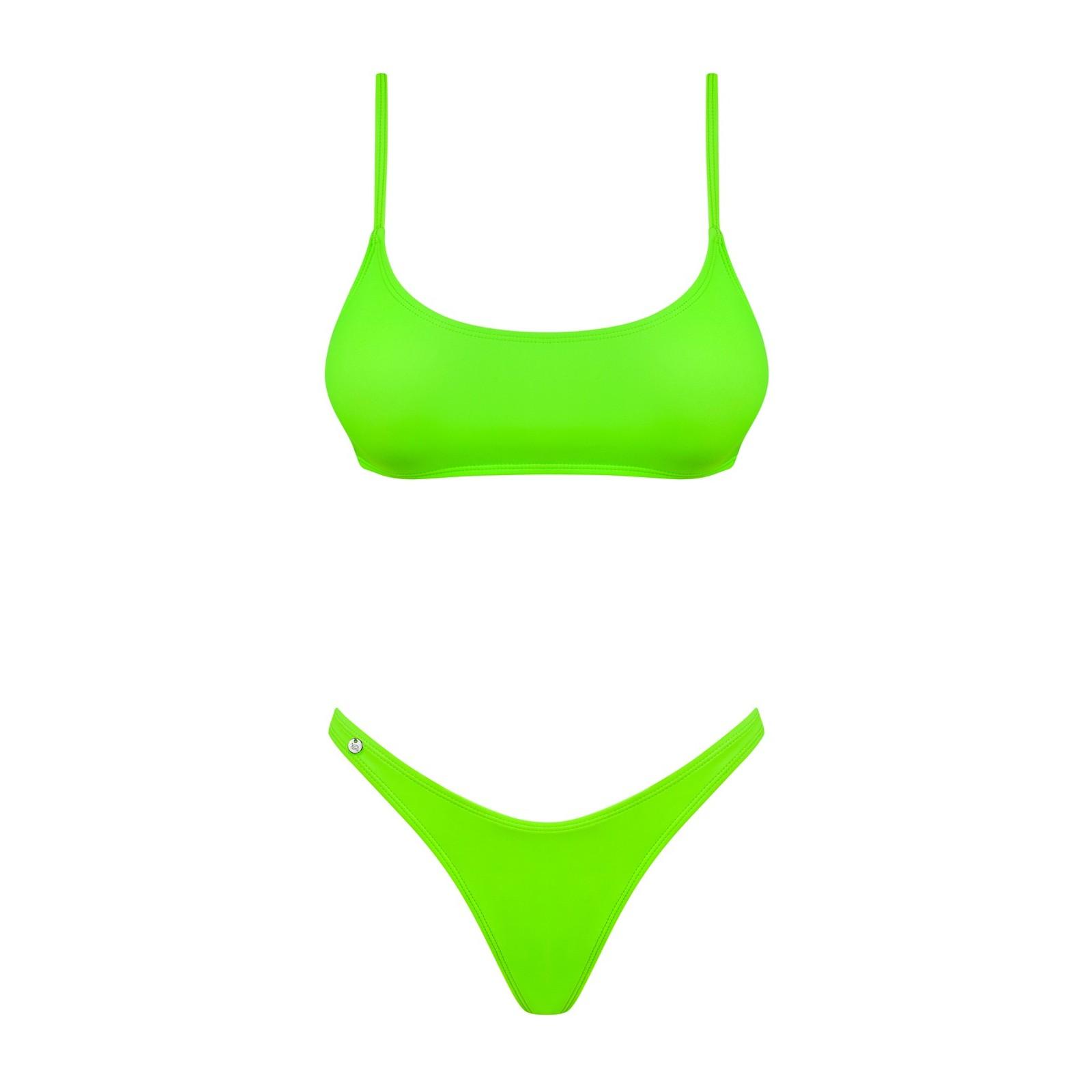 Bikini Mexico Beach neongrün - 5 - Vorschaubild