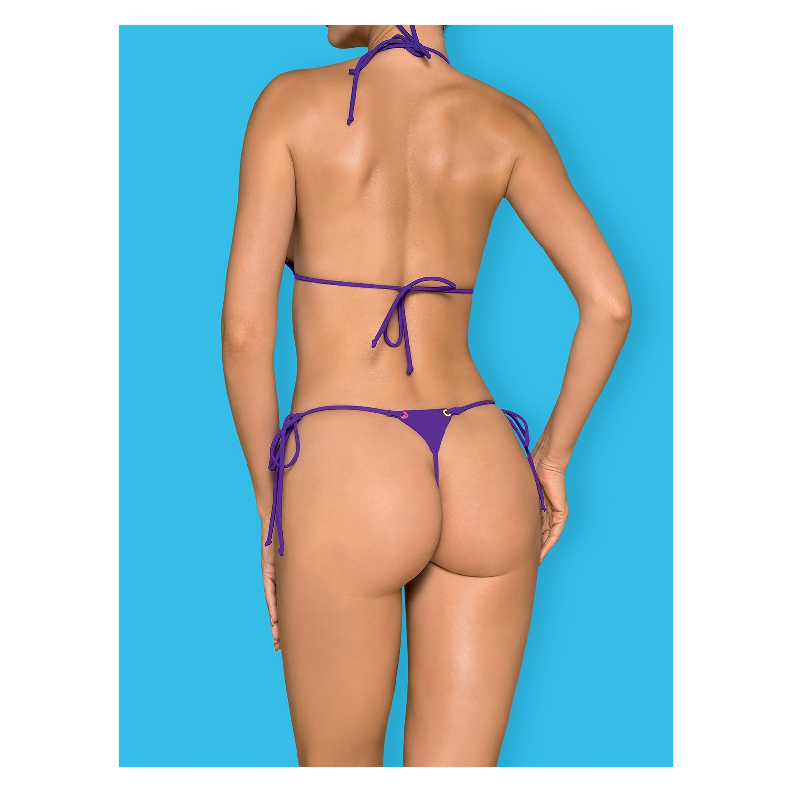 Micro-Bikini Beverelle violett - 2 - Vorschaubild