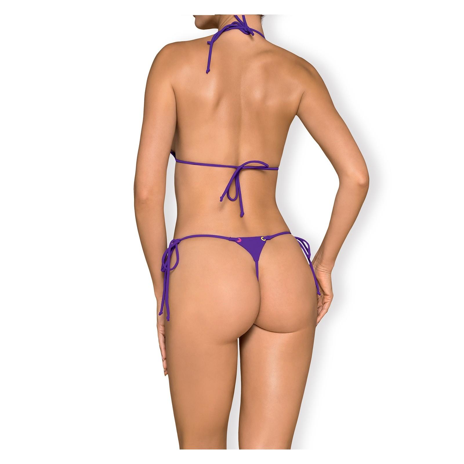 Micro-Bikini Beverelle violett - 4 - Vorschaubild