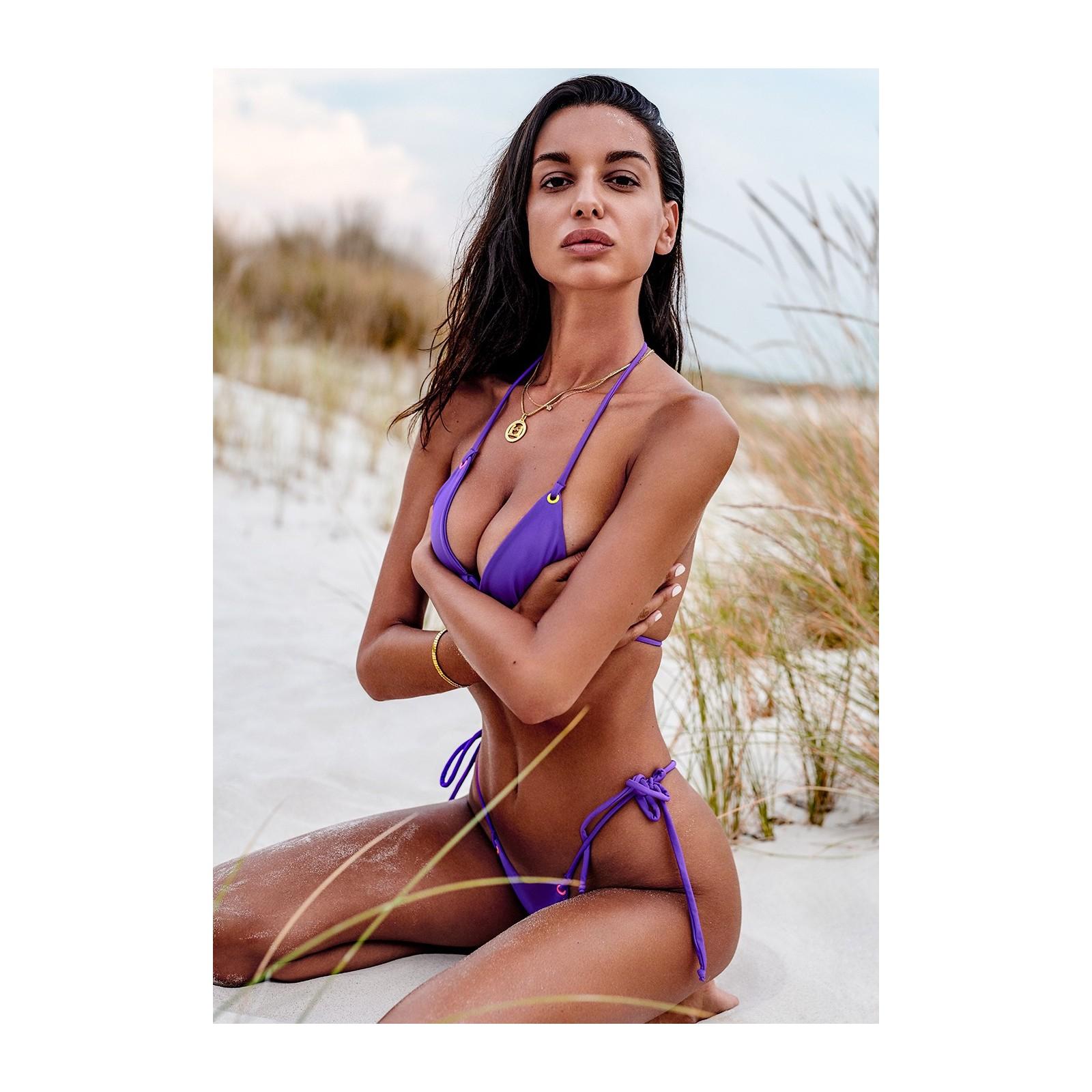 Micro-Bikini Beverelle violett - 8 - Vorschaubild