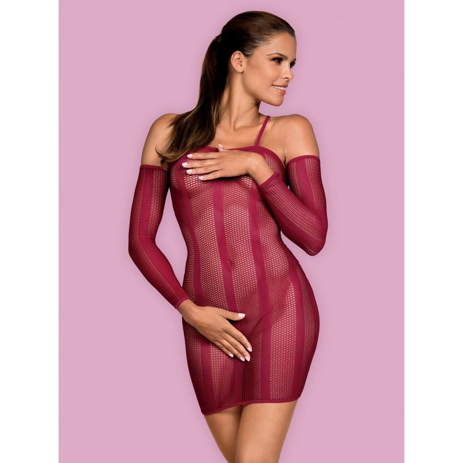 Dressie Kleid rubin - 1