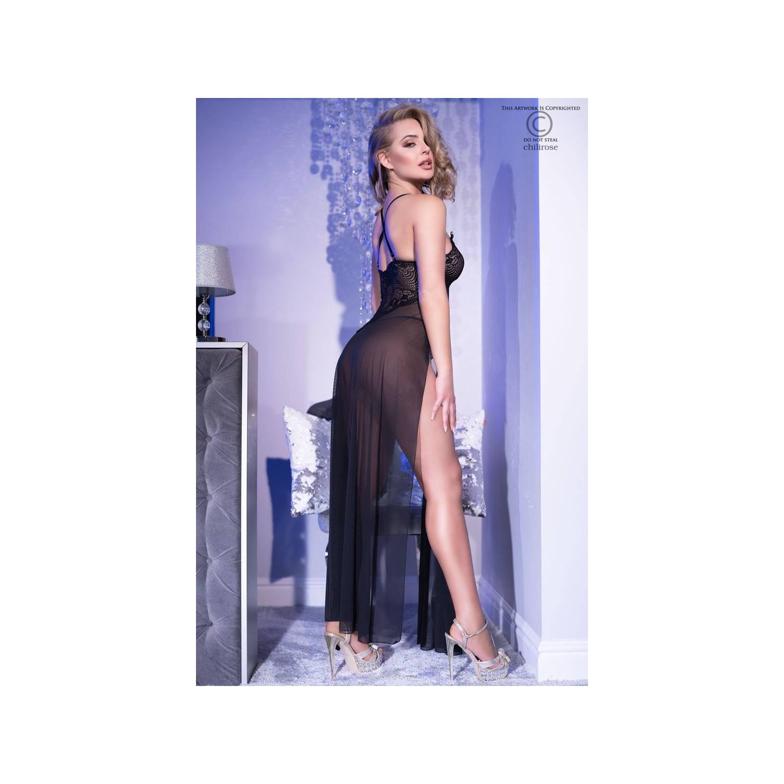Gown CR4371 schwarz - 2 - Vorschaubild