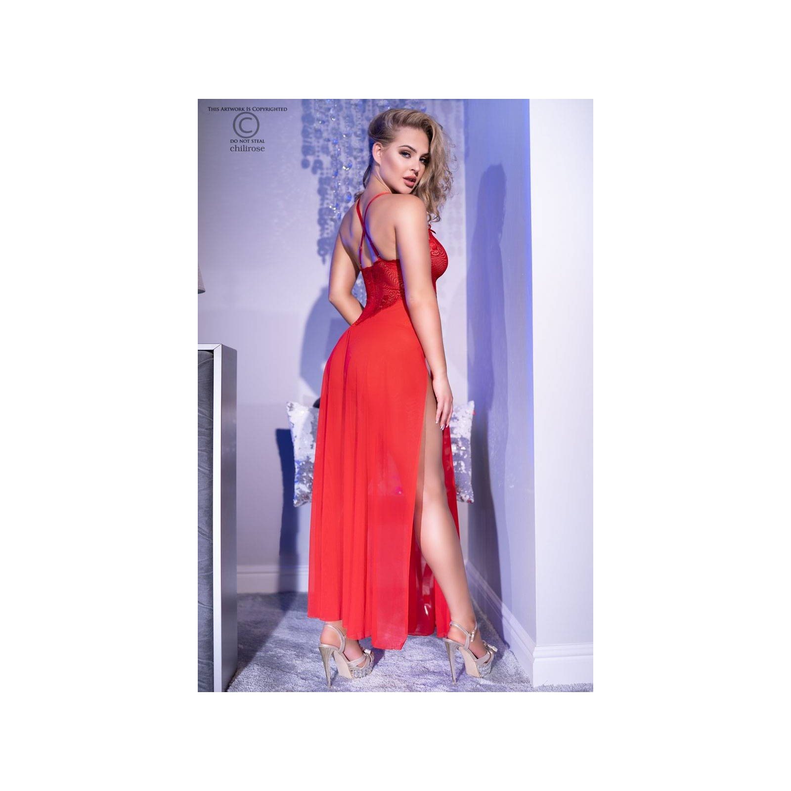 Gown CR4371 rot - 2 - Vorschaubild