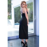 Langes Kleid CR4379 schwarz - 2