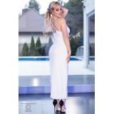 Langes Kleid CR4379 weiß - 2