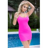Minikleid CR4380 hot pink - 5