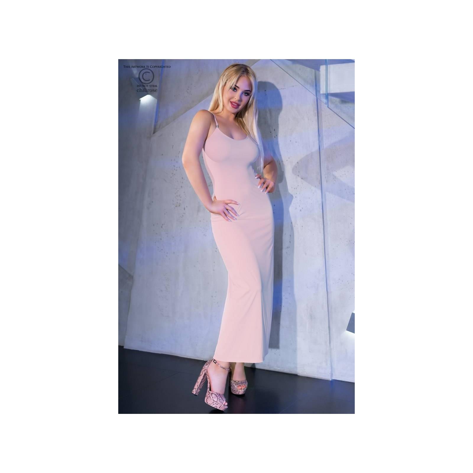 Langes Kleid CR4379 light pink - 1 - Vorschaubild