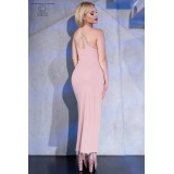 Langes Kleid CR4379 light pink - 2