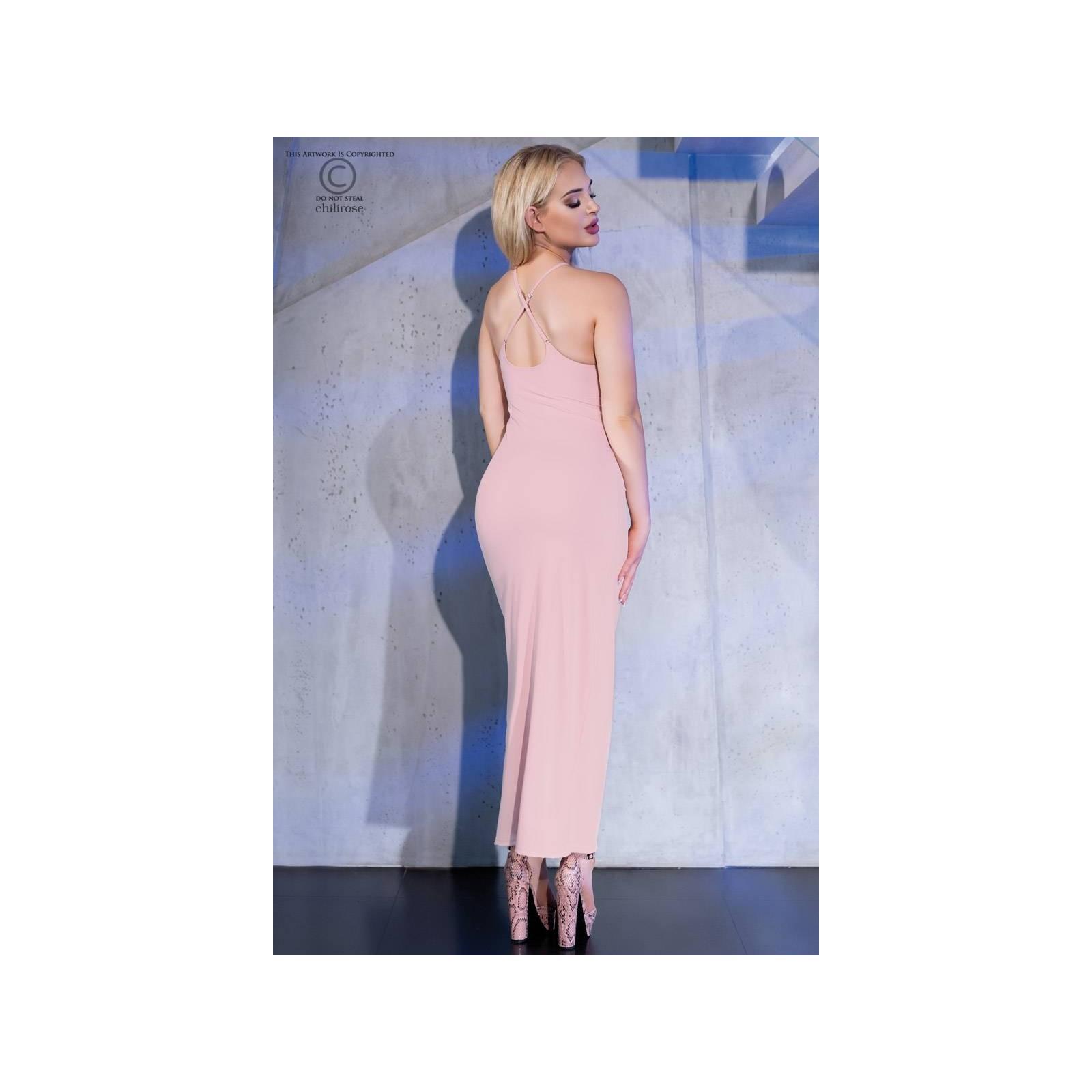 Langes Kleid CR4379 light pink - 2 - Vorschaubild