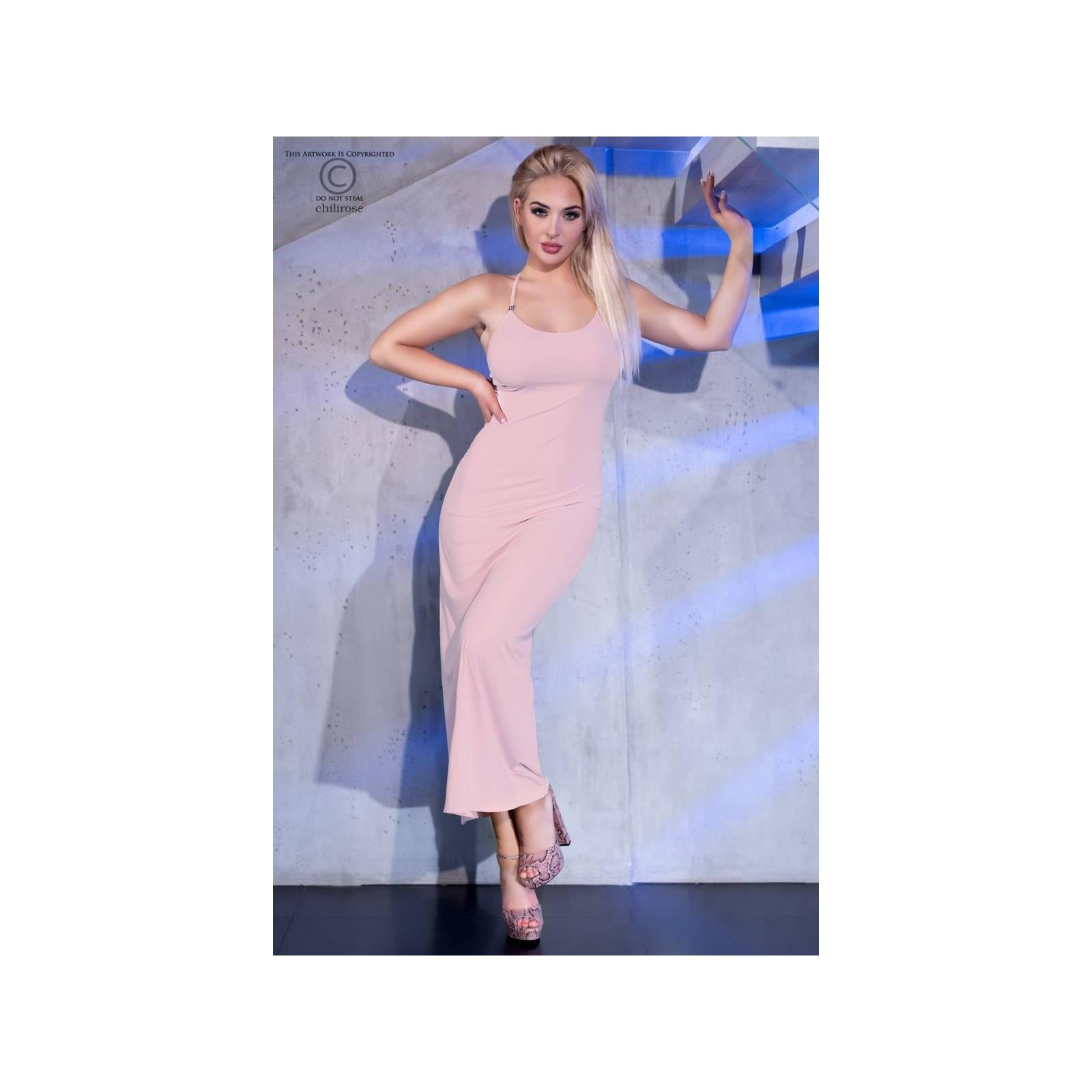Langes Kleid CR4379 light pink - 3 - Vorschaubild