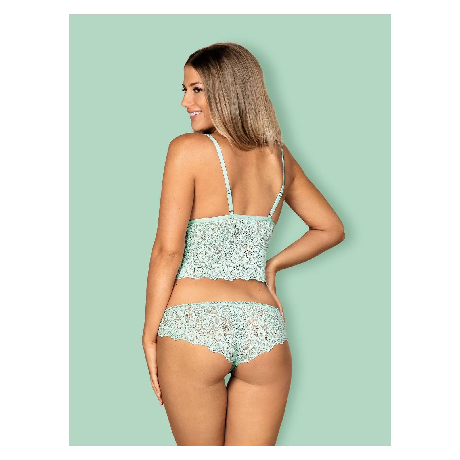 Delicanta Top & Panties mint - 2 - Vorschaubild