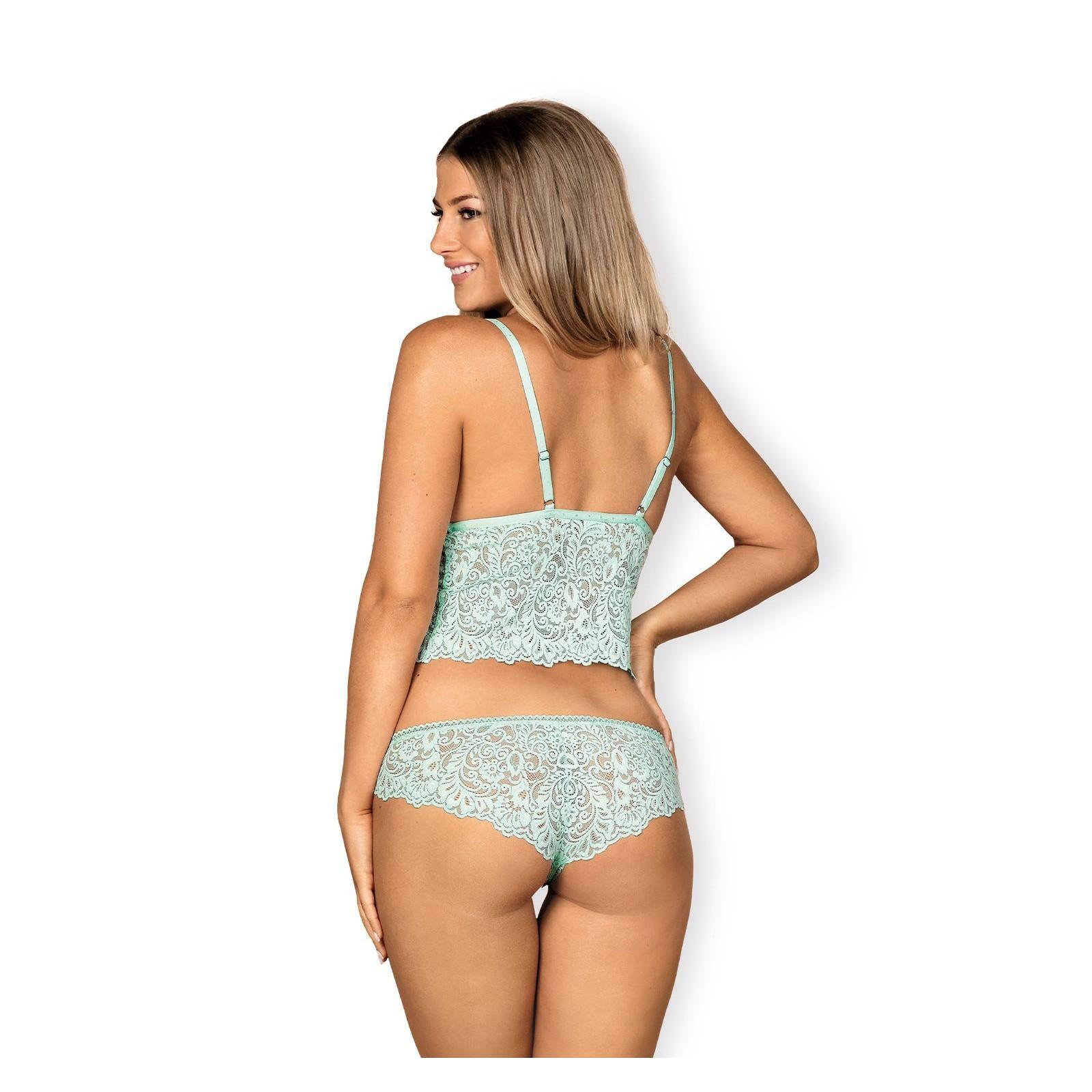 Delicanta Top & Panties mint - 4 - Vorschaubild