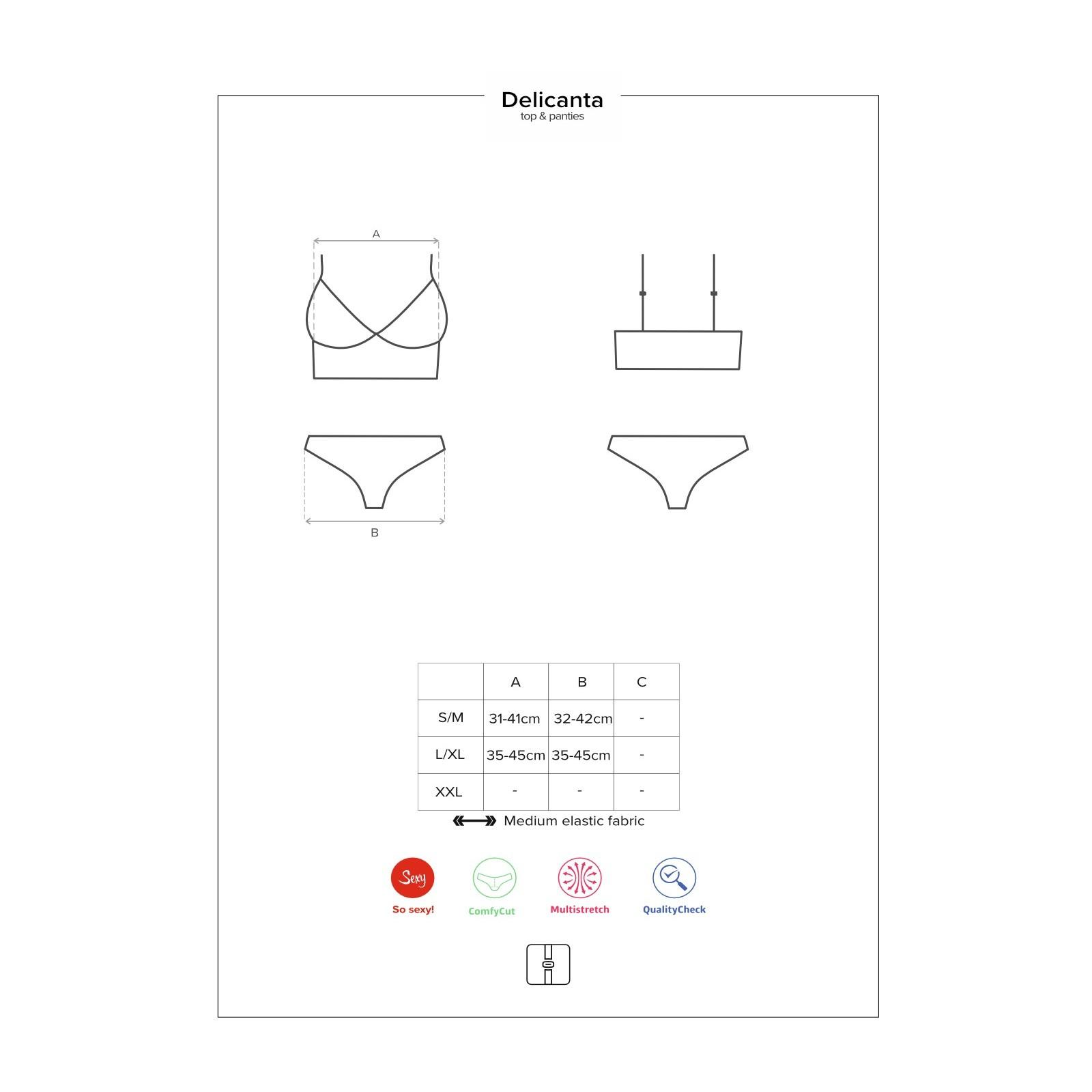 Delicanta Top & Panties mint - 7 - Vorschaubild