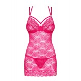 860-CHE-5 Chemise pink - 5
