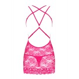 860-CHE-5 Chemise pink - 6
