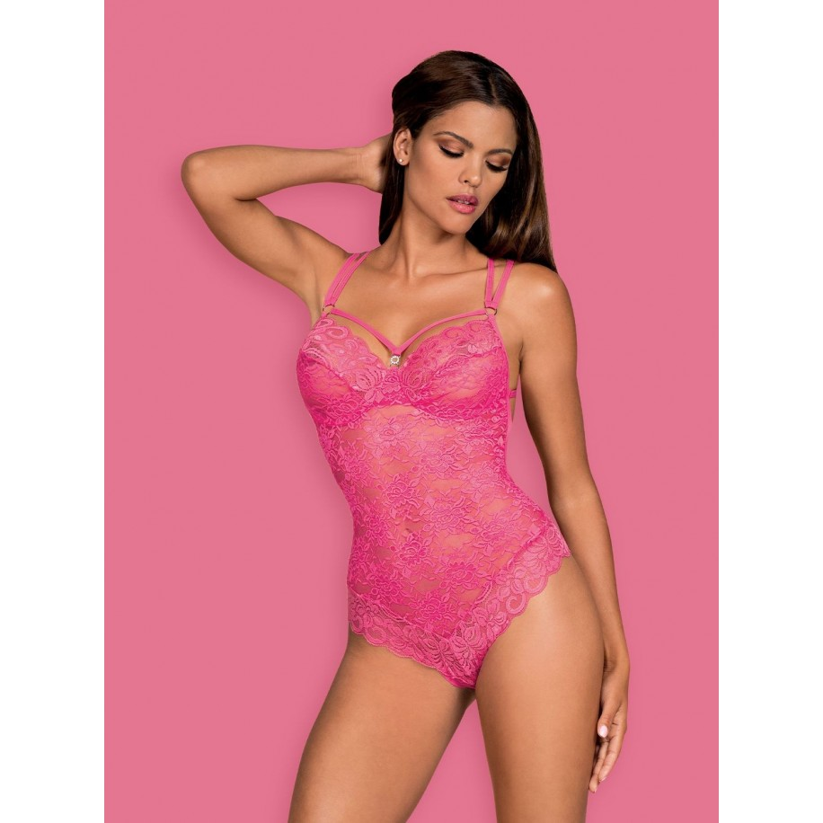 860-TED-5 Teddy pink - 1