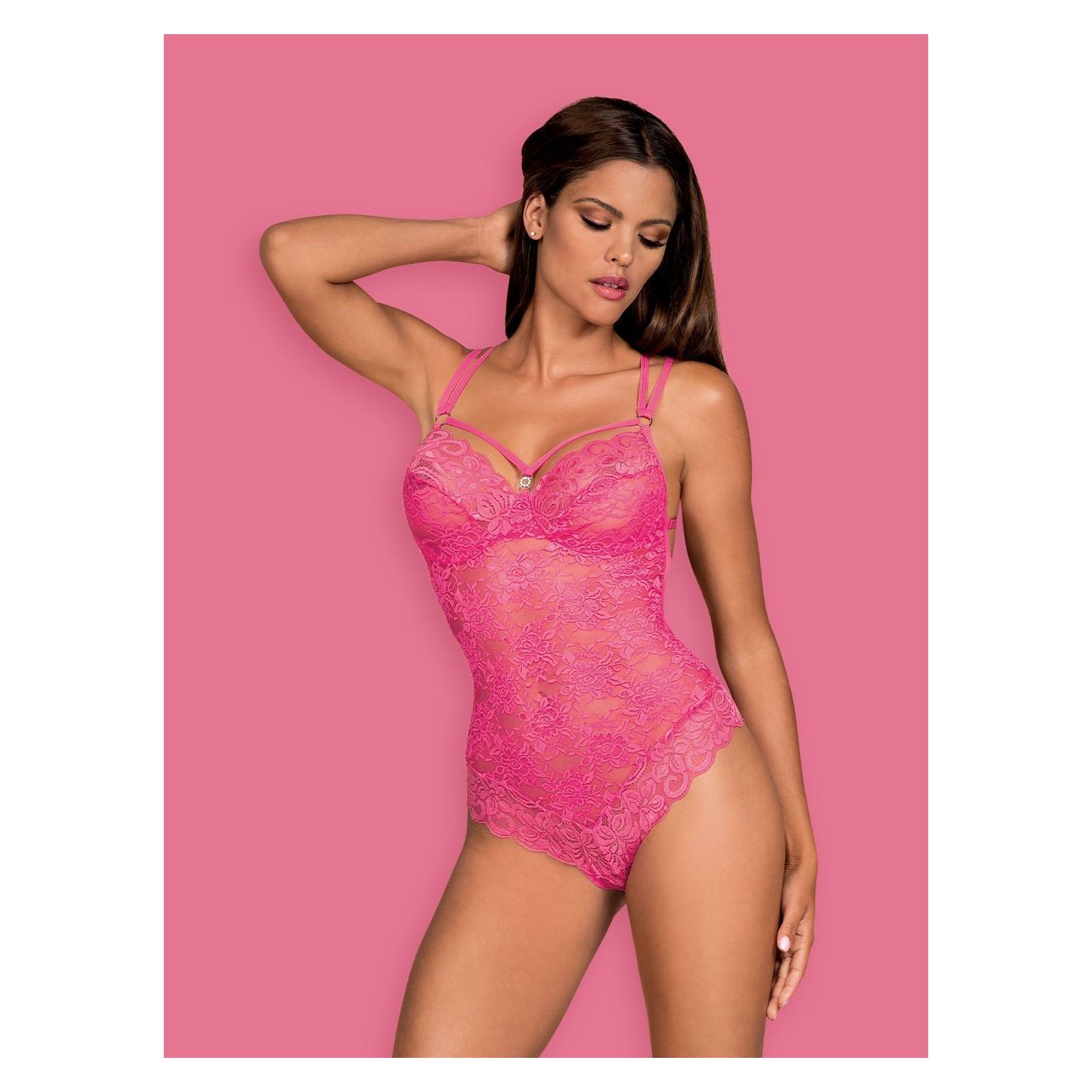 860-TED-5 Teddy pink - 1 - Vorschaubild