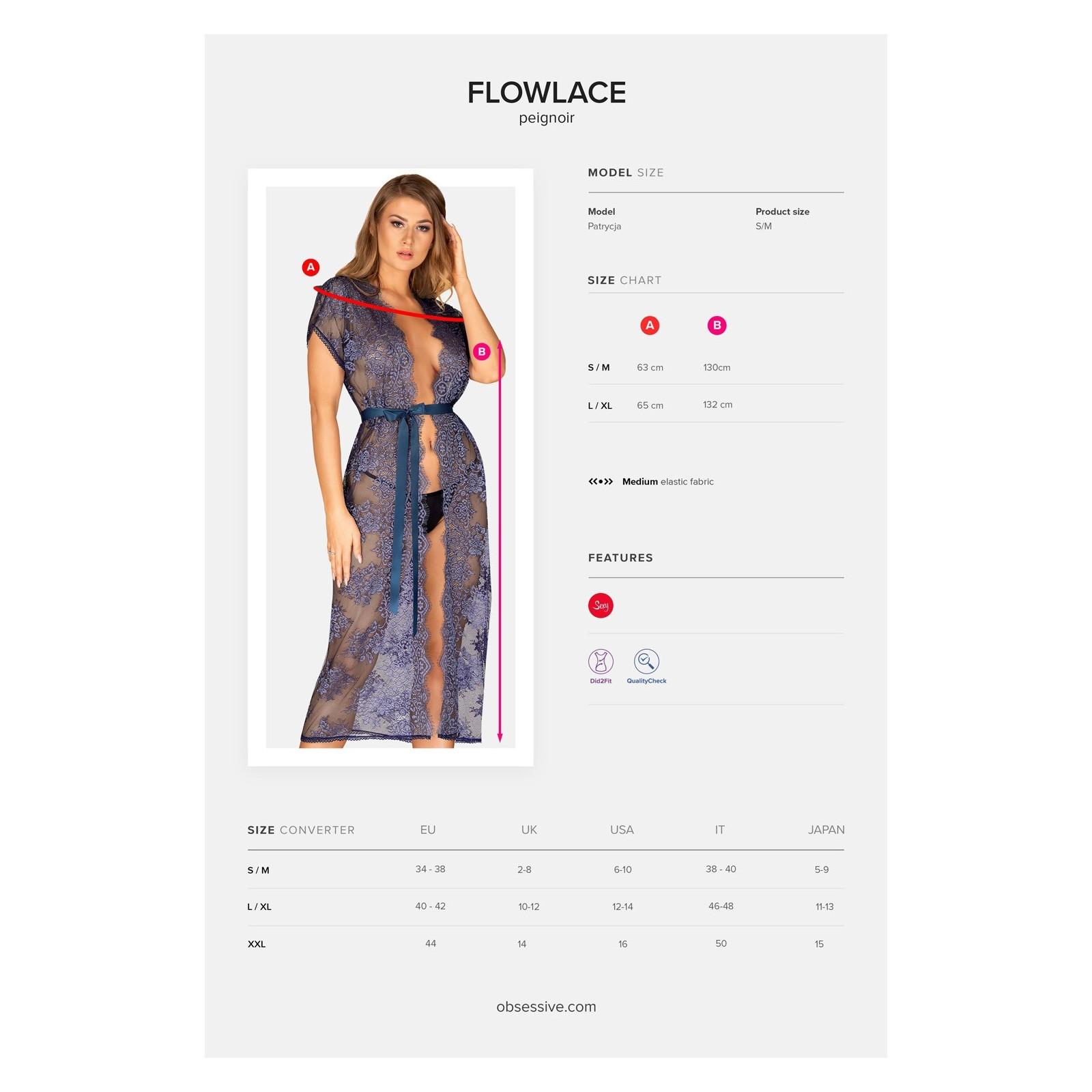 Flowlace Peignoir - 7 - Vorschaubild