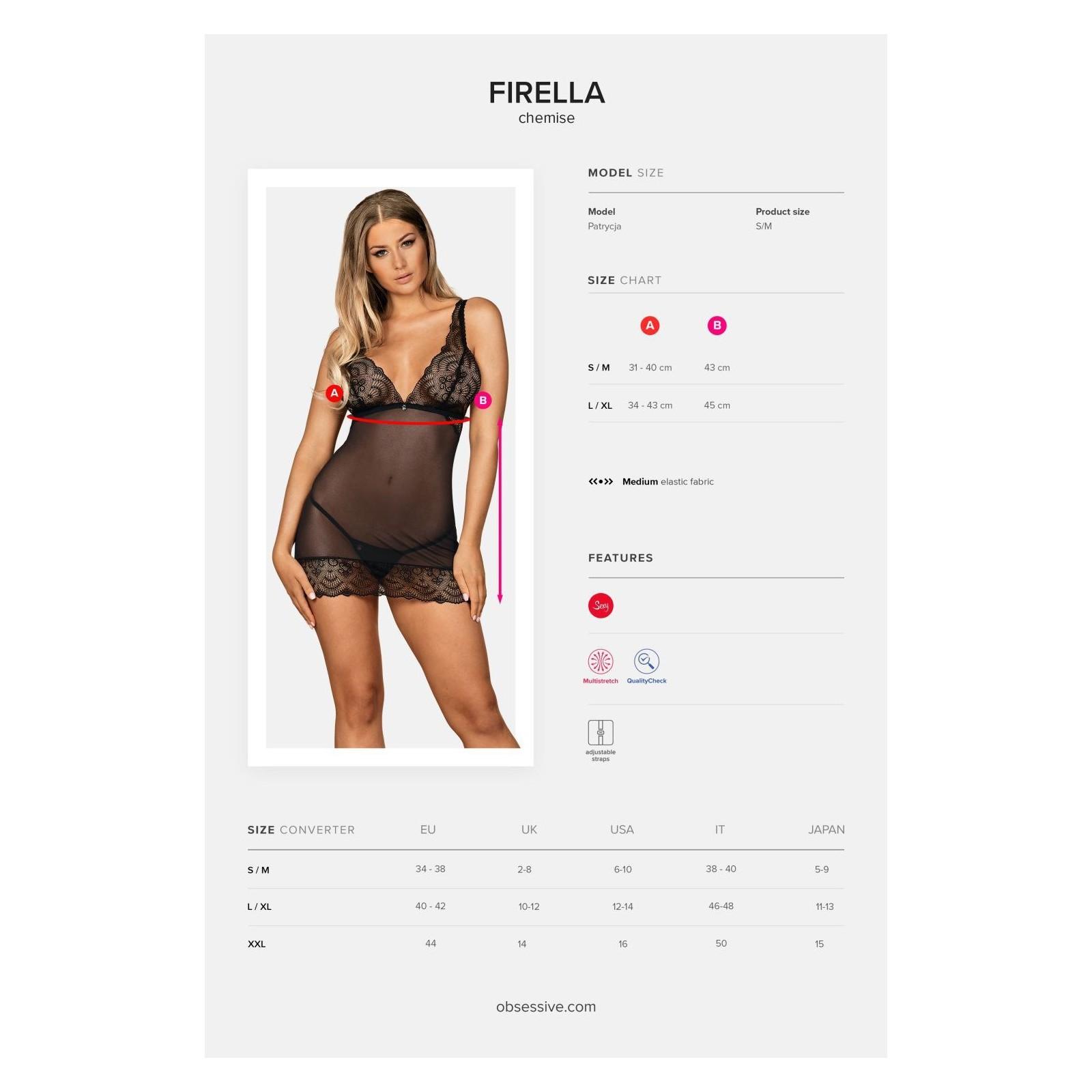 Firella Chemise - 7 - Vorschaubild